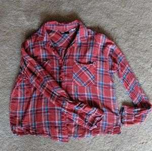 Red Flannel Blouse